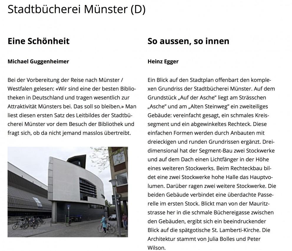 Stadtbücherei Münster (D) | Buchort Kopie