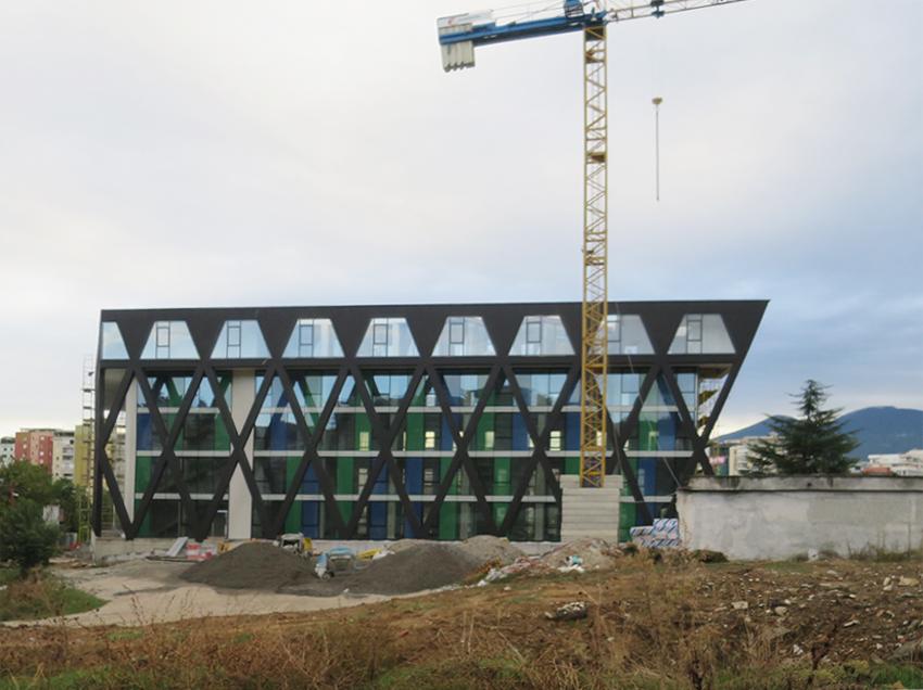 BOLLES+WILSON_headquarters for the Albanian Football Association